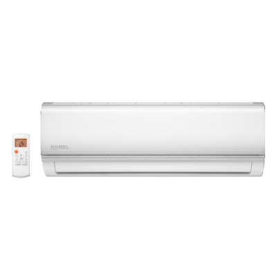KOREL NEXO KOR32-12HFN8 (kültéri + beltéri egység) Oldalfali split klíma  3,5 kW,Hősz,  Inverter,R32, WIFI csatlakozási opció