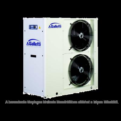 GALLETTI MPE 019 C0 (01S0C00000001) pump, tank, cond.contr. folyadékhűtő (hidroblokkal, vent. ford. szab.) 19,7 kW, R410A, 3 fázis