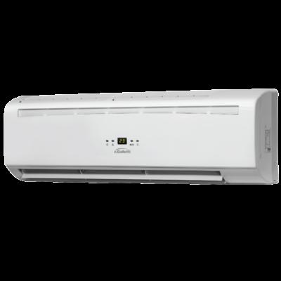 GALLETTI  FM 42 (egyutú szeleppel) Fan-coil + infra távirányító+1 utú szelep, magasfali 3,74 kW, 230-1-50