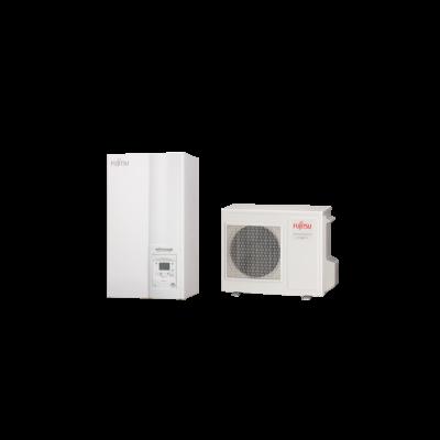 Fujitsu Waterstage MB 8 Kompakt monoblokk (WPYA080LG+WSYP / WSYP100DG6) levegő-víz hőszivattyú 8 kW