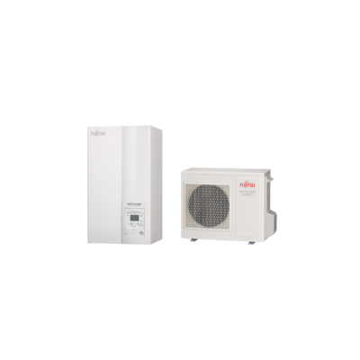Fujitsu Waterstage MB 10 Kompakt monoblokk (WPYA100LG+WSYP / WSYP100DG6) levegő-víz hőszivattyú 10 kW