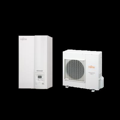 Fujitsu Waterstage S 8 Comfort V2 (WSYA100DG6 / WOYA080LFCA) levegő-víz hőszivattyú 7.5 kW
