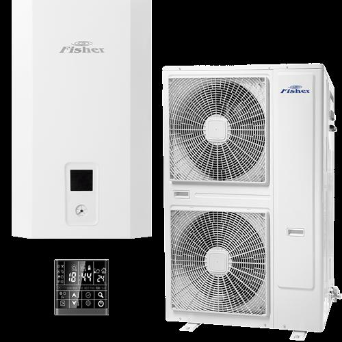 FISHER e-HeatR Levegő-víz hőszivattyú 16 kW (hidraulikus egység + kültéri egység) FHF-WHS-160CE3