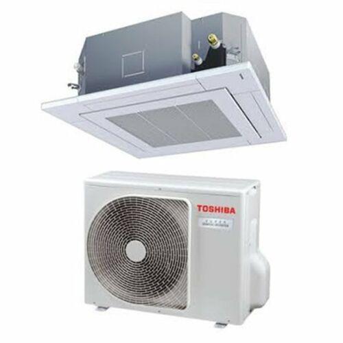 Toshiba RAV-RM1401UTP-E RAV-GM1401AT8P-E (Digital Inverter, 4 utas standard, 3 fázisú) kazettás klíma