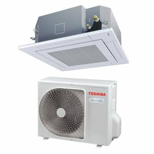 Toshiba RAV-RM1101UTP-E RAV-GM1101ATP-E (Digital Inverter, 4 utas standard, 1 fázisú) kazettás klíma