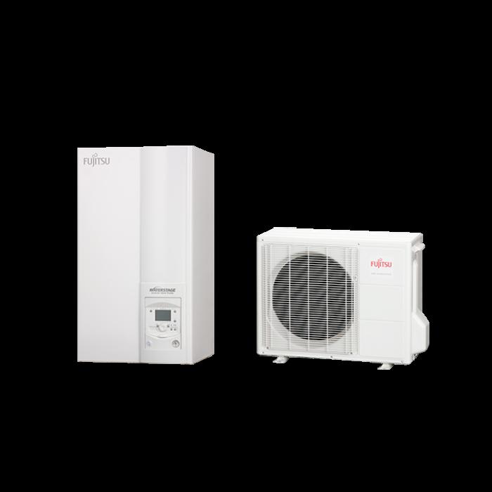 Fujitsu Waterstage HP 14/1F (WSYG140DG6 / WOYG140LCTA) levegő-víz hőszivattyú 13,5 kW