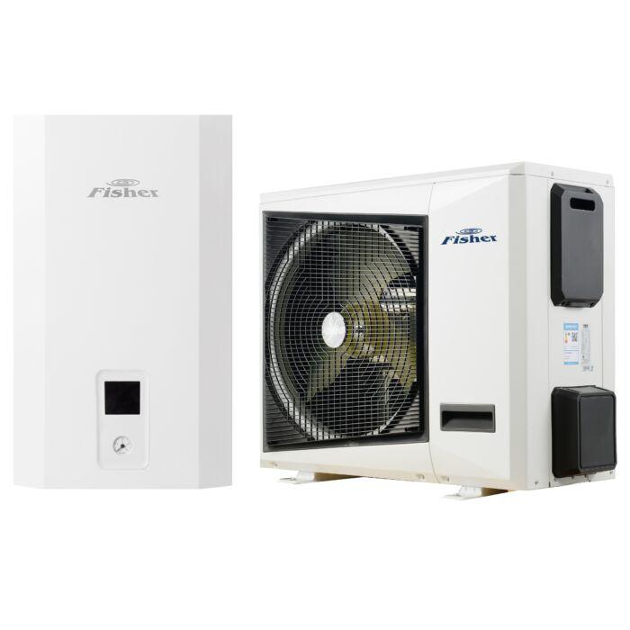 FISHER e-HeatR Levegő-víz hőszivattyú 10 kW (hidraulikus egység + kültéri egység) FHF-WHS-100CE3