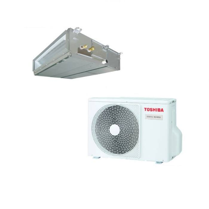 Toshiba RAV-RM561BTP-E RAV-GP561ATP-E (Super Digital Inverter, standard, 1 fázisú) légcsatornázható klíma