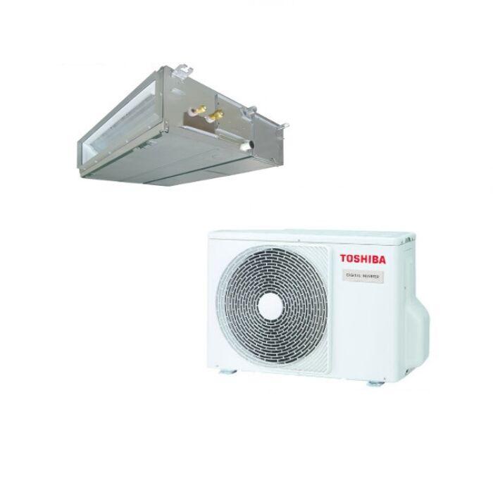 Toshiba RAV-RM1401BTP-E RAV-GM1401ATP-E (Digital Inverter, standard, 1 fázisú) légcsatornázható klíma