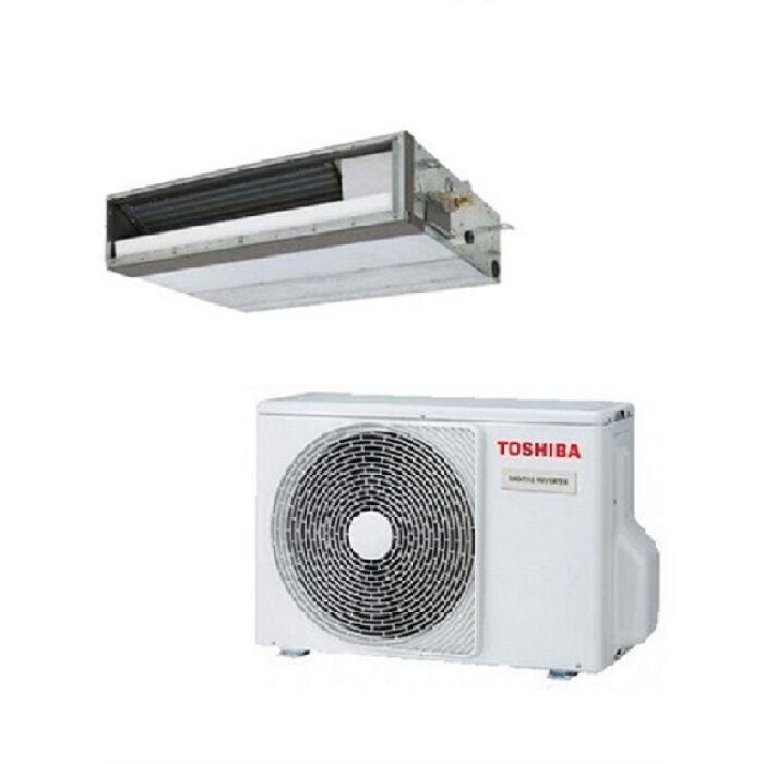 Toshiba RAV-RM301SDT-E RAV-GM301ATP-E (lapos) légcsatornázható klíma