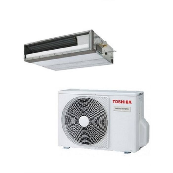 Toshiba RAV-RM401SDT-E RAV-GM401ATP-E (lapos) légcsatornázható klíma