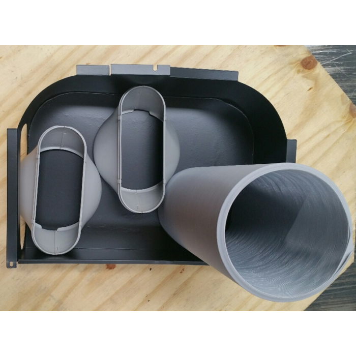 Fisher - Double duct kit (Mobil klímához)