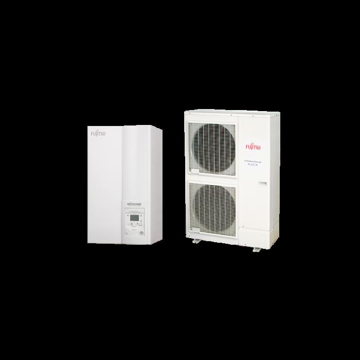 Fujitsu Waterstage HP 11/3F High Power V2 (WSYK160DG9 / WOYK112LCTA) levegő-víz hőszivattyú 10.8 kW