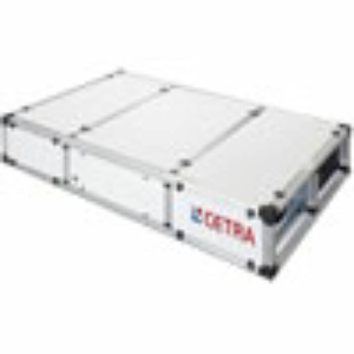 CETRA by Galetti RPE X 320 O (vízszintes kivitel) hővisszanyerős szellőztető